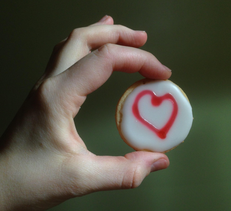 VEGAN GUTEN free 'shortbread' cookies!