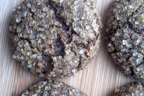 Delicious Vegan & Gluten Free Molasses Cookies