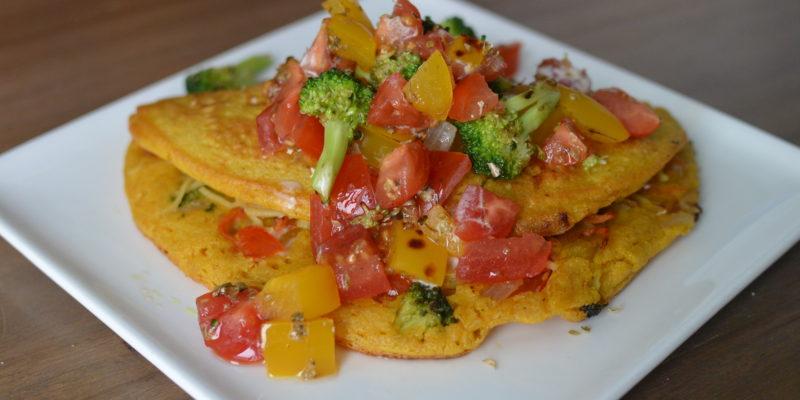 dairy free gluten free egg free vegan omelette