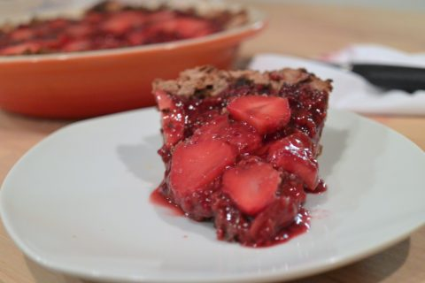 The Raspberry Gluten Free Vegan Donut Pie