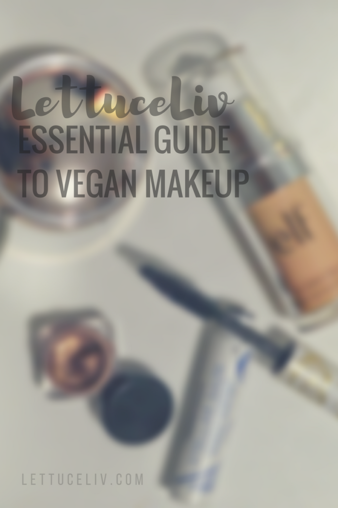 vegan makeup 101