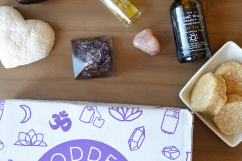 Goddess Provisions April Sun Energy Box Review
