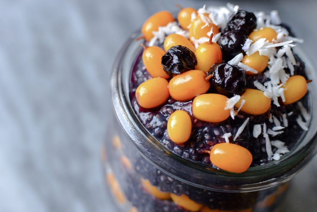 Sea Buckthorn superfood pudding