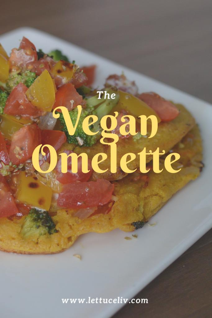 Vegan Omelette gluten free soy free