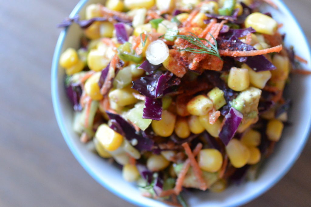 Creamy Rainbow Salad