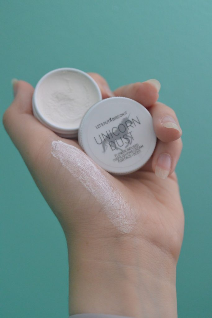 Unicorn dust highlighter lettuceliv